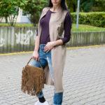 Garderobo vyšnaitė – liemenė